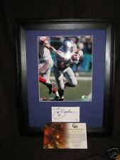 TIKI BARBER Autographed Signed Photograph NEW YORK GIANTS MATTED 8x10 GAI CERT