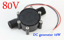 DC 0-80V DC generator 10W micro-hydro water turbine generator water charging
