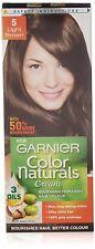 Garnier Color Naturals 5 Light Brown Crème Riche No Ammonia Hair Color 29ml+16gm
