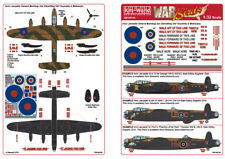 NEW 1:48 Kits World Decals 48104 Avro Lancaster General Markings
