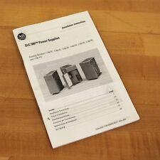 Allen Bradley 1746-In004D-Mu-P Slc 500 Power Supplies Installation Instructions