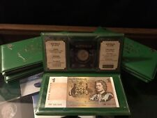1984 Last $1 Note and First $1 Coin Folder