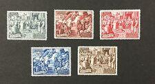 {BJ Stamps} VATICAN CITY 149-153,1951 Chalcedon , F-VF, OG, MNH. '17 CV $79.50.