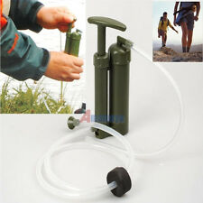 Portable Army Soldier Camping Emergency Survival Cartridge Water Filter Purifier