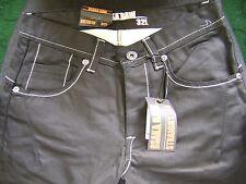 Osaka Raw Jeans-Noir - 32 L-Coupe droite-Fermeture à boutons-Japan design