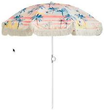 Basil Bangs Mai Tai Beach Umbrella with Fringe