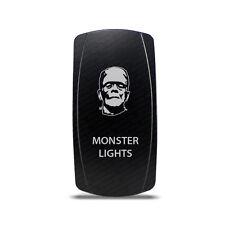 CH4x4 Rocker Switch Monster Ligths Symbol 2 - Vertical - Green LED