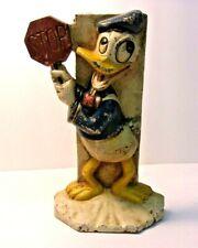 Vintage Donald Duck Cast Iron Door Stop