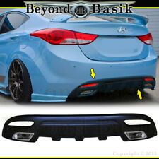 For 2011 2012 2013 Hyundai Elantra Sequence Style Rear DIFFUSER Body Kit