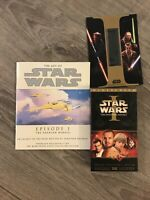 1999 The Art Of Star Wars Episode 1 The Phantom Menace VHS Book With Film Cel