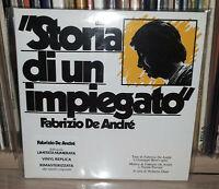 FABRIZIO DE ANDRE - STORIA DI UN IMPIEGATO - NUMBERED - MINI LP - CD