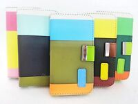 Flip Wallet Leather Case Cover New Book Pouch For Apple iPhone4 4s +Screen Gaurd