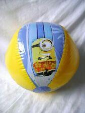 "NEW INFLATABLE MINIONS BEACH BALL 15.7"" 40cms OUTSIDE GARDEN FUN :-)"