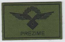 CROATIAN ARMY CROATIAN AIR FORCE,  PILOT'S - subdued patch !