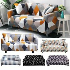 4 Seat Slipcovers Sectional Elastic Stretch Sofa Couch Armchair Cover Protector
