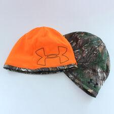 Under Armour UA Reversible Fleece Camo 2.0 Beanie Mens Hat Hunting Real Tree Ap