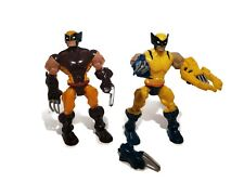 Wolverine Figurines figure 2013 Lot 2  Gentle Giant Marvel Blue Yellow Black