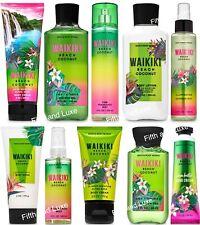 Bath & Body Works Waikiki Beach Coconut Cream~Lotion~Mist~Scrub~S himmer~Travel