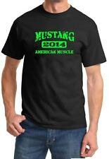 2014 Ford Mustang American Muscle Car Color Design Tshirt NEW Free Ship