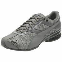 NEW Men's Sneakers PUMA TAZON 6 CAMO MESH Running Shoes - Gray - Size 9
