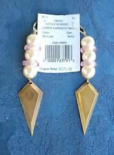 NWT Nicole Romano Bowen Spear  Pierced Earrings New $275