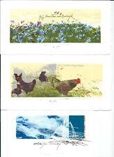 4 Ex Libris Bookplate Exlibris CDG by Martin Baeyens - Belgium