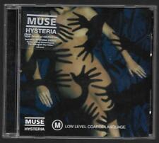 Muse - Hysteria **Rare 2004 Australian DVD Single**VG Condition not CD