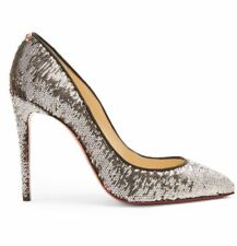 Sold Out CHRISTIAN LOUBOUTIN Pigalle Follies 100 sequin-embellished pumps 39.5