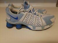 Nike Shox Cognescenti Womens Running Shoes Size 8.5M  blue white  I#10 NICE
