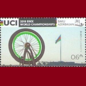 BMX Bicycle World Championships, Baku Azerbaijan stamps 2018