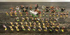Vintage Hausser Elastolin 40mm 84 Figure Lot Of Roman Army With Chariot