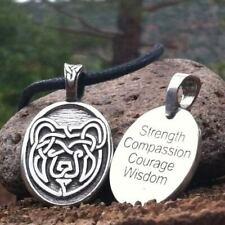 *Celtic Strength BEAR Limited Edition Pendant Necklace Wiccan Pagan Jewelry CS3