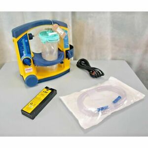 Laerdal Suction Unit LSU with Patient Canister, battery & Mains lead