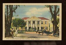 Bahamas Unused PPC Picture Postcard (Statue of Queen Victoria, Nassau) Pre-1950s