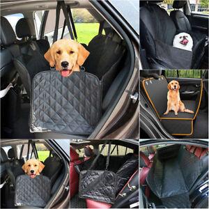 Car Seat Cover Dog Safety Protector Mat Front Rear Back Seat Hammock Cushion Mat