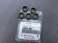 KAWASAKI KH100 KD80 KE100 KE175 KX500 F6 KH250 OIL SEAL (QTY.5) NOS 92049-004