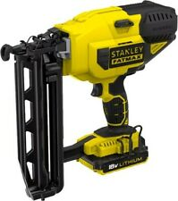 Stanley Fatmax Lithium Nail Gun Decker Battery And Charger New