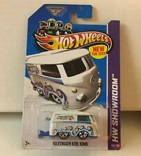 Volkswagen Kool Kombi #169 * WHITE * Hot Wheels 2013 * NC34
