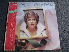 Anne Murray-Christmas WISHES lp-1981 Japan-OBI-Capitol-X - MAS