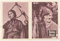 THE ADVENTURES OF ROBIN HOOD Original RARE EXYU Movie Program 1938 ERROL FLYNN