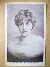1906 Postcard- Actress MISS VIOLET VANBRUGH + Stamp