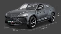 Maisto 1/24 Lamborghini URUS Gray Diecast MODEL Racing SUV Car NEW IN BOX