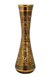 Decorative Vintage Antique Style Brass Pot, Handmade Brass Vase, Hand Engraved.