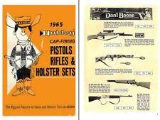 Hubley 1965 Cap Firing Gun & Sets - Dealers Catalog