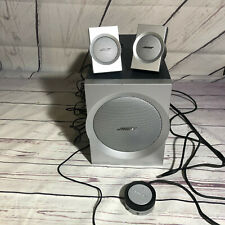 Bose Companion 3 Series Multimedia Speaker System, pre-owned with wear/scratches