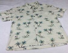Island Republic Men's Size XL Button Down Tropical Hawaiian Shirt Cotton/Rayon