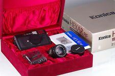 Premium Rangefinder KONICA Hexar RF + M-HEXANON 50mm F/2 Leica M Mount Excellen