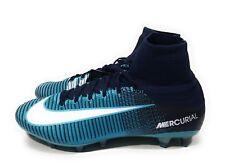 cheap for discount 4e7e7 0d90c Nike Mercurial Superfly V DF AG Pro Hombre Botines De Fútbol Azul Blanco  Talla 12