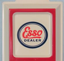 Esso Filling Station ~ Embossed Tin Advertising Thermometer