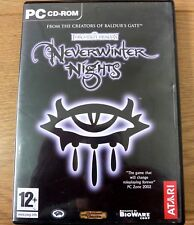 Neverwinter Nights Forgotten Realms for PC 4x CD Rom